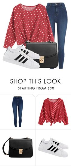 """""""Outfit #1953"""" on Polyvore featuring moda, River Island, MANGO y adidas"""