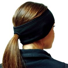 An ear warmer with a ponytail spot???! For $10??!