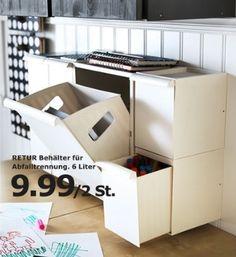 Office room - IKEA storage