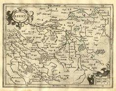 Ancienne carte du #Berry