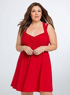 ed99bd4f614 Crisscross Babydoll Dress