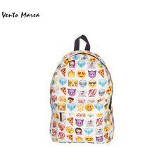 Emoji Backpack Sac A Dos Femme US 2016 New Rucksack Mochilas Backpack Canvas Cute Smiley School Bag Design Women Smile Bookbag♦️ SMS - F A S H I O N 💢👉🏿 http://www.sms.hr/products/emoji-backpack-sac-a-dos-femme-us-2016-new-rucksack-mochilas-backpack-canvas-cute-smiley-school-bag-design-women-smile-bookbag/ US $13.91