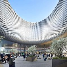 Messe Basel New Hall by Herzog