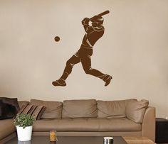 ik765 Wall Decal Sticker Baseball American football players sport kids room