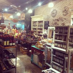 Bottega Culinaria - Mexican 100% Natural and Gourmet Shop.  Interior Deco is incredible and all products are delicious!!
