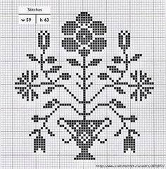 Ackworth Pattern Book - lots of patterns Cross Stitch Bird, Simple Cross Stitch, Cross Stitch Samplers, Cross Stitch Flowers, Cross Stitch Charts, Cross Stitch Designs, Cross Stitching, Cross Stitch Embroidery, Cross Stitch Patterns