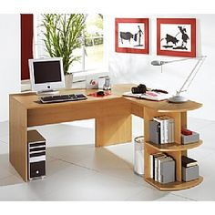 Office Furniture Online has over different types of office furniture, office desks & office chairs to choose from. All with FREE UK delivery & Credit Available Buy Desk, Writing Desk, Office Desk, Corner Desk, Beautiful Homes, Furniture Design, New Homes, House, Home Decor