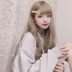 Cute Japanese Girl, Gyaru, First Girl, Kawaii Girl, Kawaii Fashion, Ulzzang, Asian Girl, Hair Cuts, Pretty