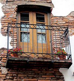 Balcony in the San Telmo barrio of Buenos Aires, Argentina