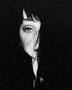 "Pen and ink illustration by Ana Novaes ( ~ ""Enlaces"" Art And Illustration, Ink Illustrations, Kunst Inspo, Art Inspo, Anime Kunst, Anime Art, Drawing Sketches, Art Drawings, Dark Art"