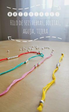 PULSERAS DE HILO