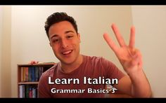 Learn Italian - Grammar Basics 3 - The Future Tense (+playlista)