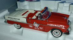 Franklin Mint CHEVROLET BEL AIR  PACE CAR  Maßstab 1:24
