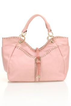 Segolene Paris Anne Marie Hobo Bag In Pink