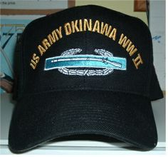 US ARMY OKINAWA WWII w  CIB Custom made ball caps sell for  42.50 ea. 562d349cc8a