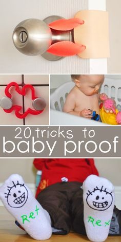 Tips and tricks to baby proof your house!
