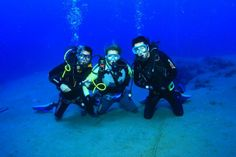 The diving centre takes interested #swimmers and #divers to over 100 #dive sites. #Ibiza #underwateradventure
