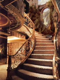 Stairway, The Enchanted Castle