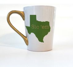 Baylor Sic 'Em 12 oz. Coffee Mug