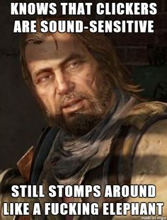 The Last Of Us Logic.