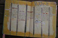 March calendar in journal   Flickr - Photo Sharing! Crazyquilter