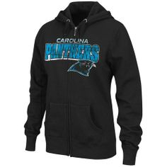 NFL Women's Carolina Panthers Football Classic III Long Sleeve Fullzip Fleece Hoodie (Black, Medium) by Majestic. $44.95