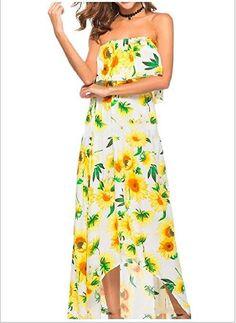 7ff959cf05 Roman Ladies Oriental Cold Shoulder Chiffon Maxi Dress Floral Embroideried  dress