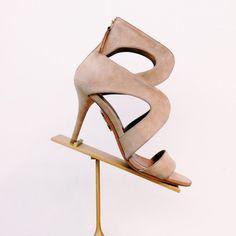 Aquazzura Cutout Noor Sandals