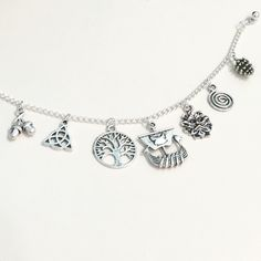 Norse charm bracelet