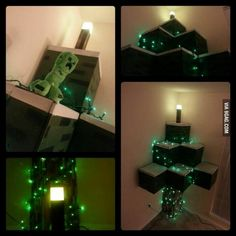 Minecraft christmas tree!