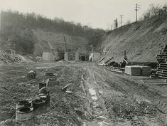 The Way We Were, 1953 - Squirrel Hill Tunnels - December 2013
