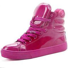 Zapatos Charol mujeres de la manera del color fluorescente Sneakers – EUR € 26.59