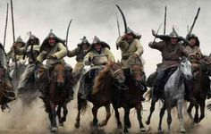 Mongol Cavalry in action Mongolia, Composite Bow, Golden Horde, Main Image, Genghis Khan, Great Wall Of China, World History, History Books, History Class