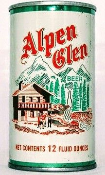 Alpen Glen Beer , San Fran / CA *1970* Beer Can Collection, Old Beer Cans, Beer Brands, Landscape Wallpaper, Beer Labels, Best Beer, Kombucha, Tins, Craft Beer