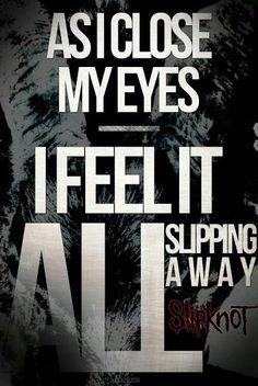 Left Behind, Iowa.. Slipknot.. greatest album ever!!