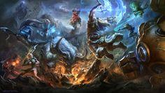 ArtStation - League of Legends wallpapers, Suke ∷