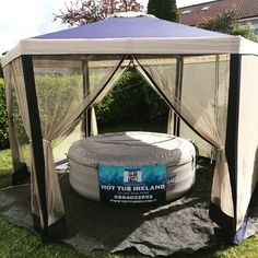Inflatable hot tub hire Ireland . VIP hot tub for rent