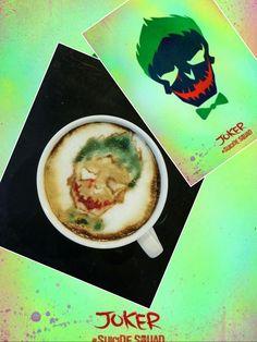 #cappuccino #latteart #joker #jaredLeto #suicidesquad #COFFEE #hobby