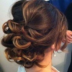 bridal wedding updo