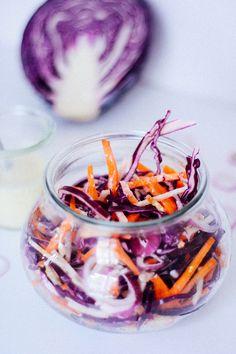 Choux rouge/carotte/radis noir
