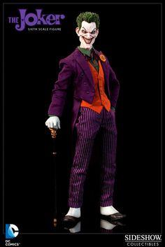 Figura DC Comics. The Joker, 30 cm. Sideshow Collectibles