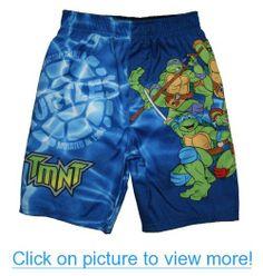 Teenage Mutant Ninja Turtles Toddler Boys Swim Trunks