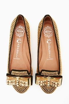 Jeffrey Campbell Martini Studded Loafer. Give a facelift to any outfit.