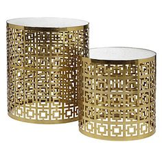 Parker Nesting Tables - Set of 2 | Accent-tables-stools | Accessories | Decor | Z Gallerie