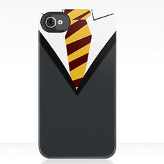 Gryffindor school uniform phone case- good thing i dont have an iphone but i still felt the need to pin...