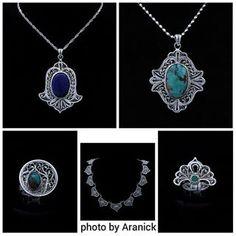 Iran, Zanjan, Jewelry Malileh art