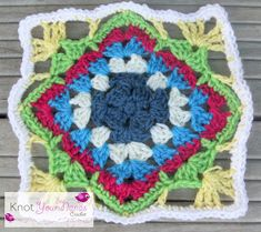 Knot Your Nana's Crochet: Granny Square CAL (Week 7)