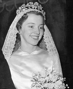 Countess of Rosebery wearing the Primrose Tiara