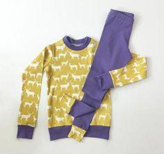 Knit Pajamas Sewing Pattern