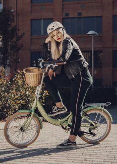 Bicicletas plegables de coleccionista inspiradas en mitos y leyendas del cine y series de culto, te presentamos las #bicicletasplegables DaFatCat. Aquí el modelo Dorothy.